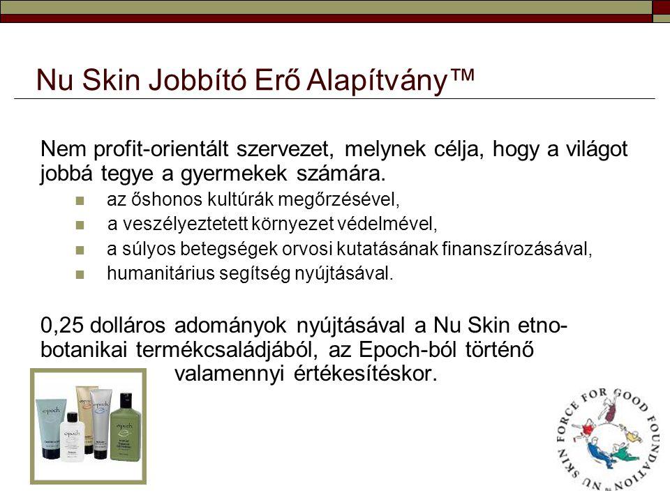 Nu Skin Jobbító Erő Alapítvány™