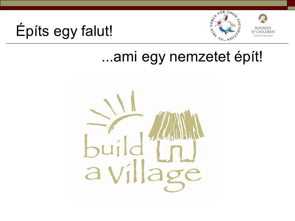 Építs egy falut! ...ami egy nemzetet épít!