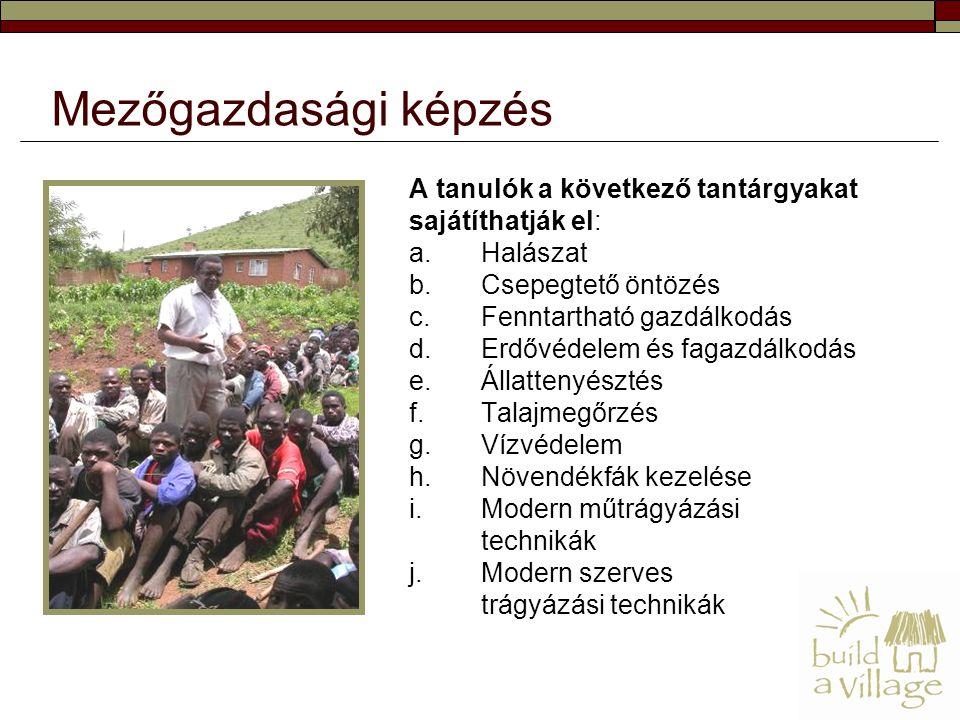Mezőgazdasági képzés