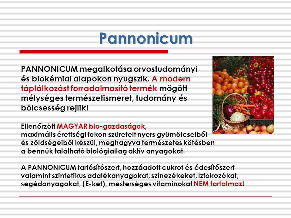 Pannonicum PANNONICUM megalkotása orvostudományi