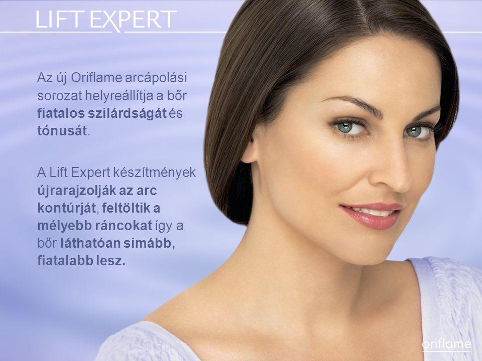 Az új Oriflame arcápolási sorozat helyreállítja a bőr fiatalos szilárdságát és tónusát.