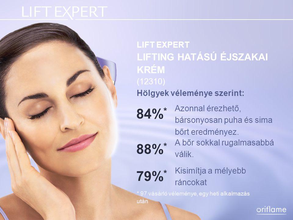 84%* 88%* 79%* LIFT EXPERT LIFTING HATÁSÚ ÉJSZAKAI KRÉM (12310)