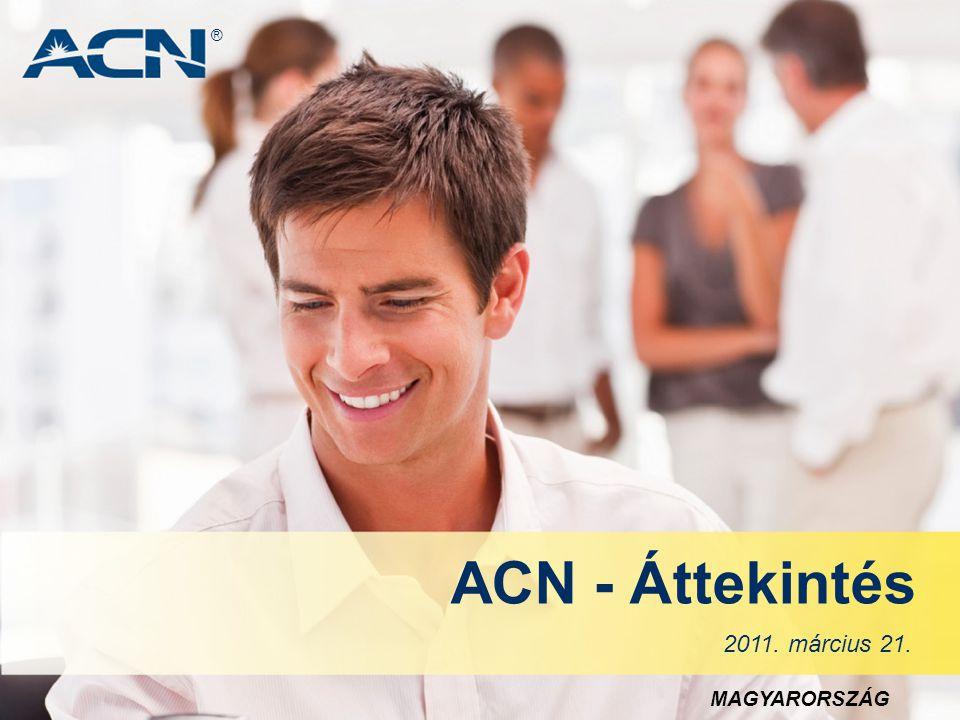® ACN - Áttekintés 2011. március 21. MAGYARORSZÁG