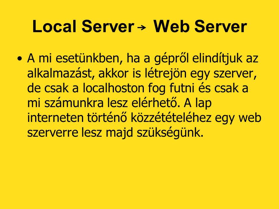 Local Server Web Server
