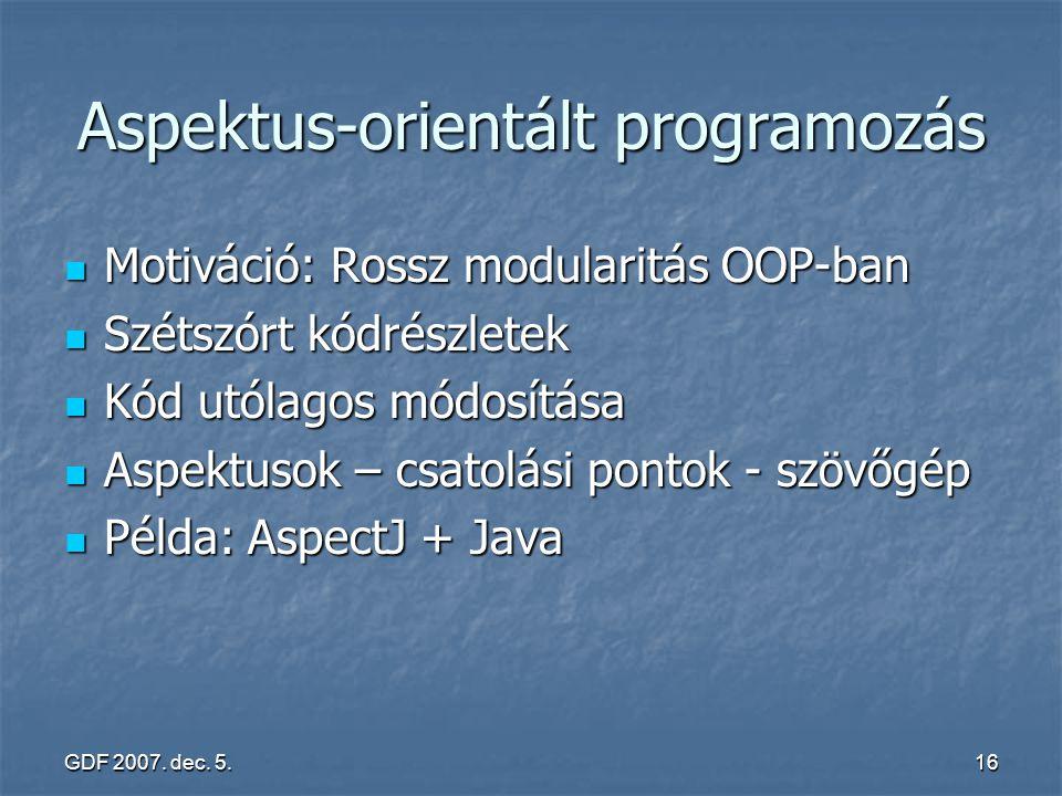 Aspektus-orientált programozás