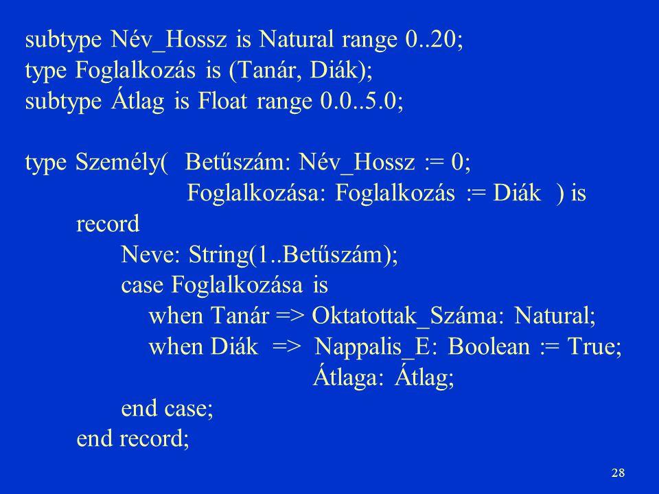 subtype Név_Hossz is Natural range 0..20;
