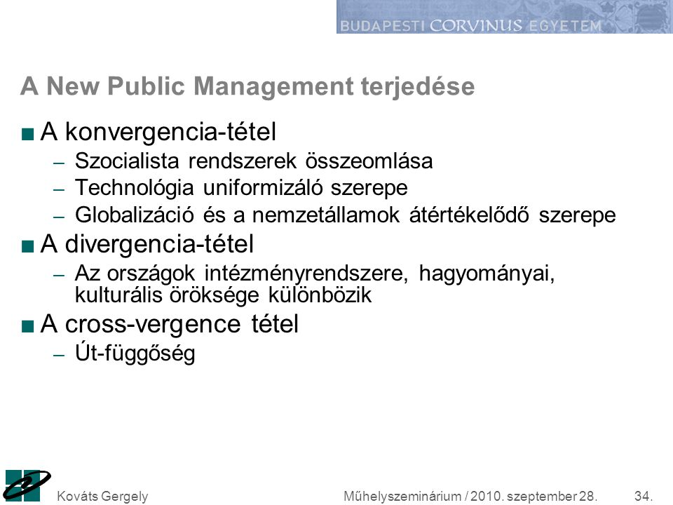 A New Public Management terjedése