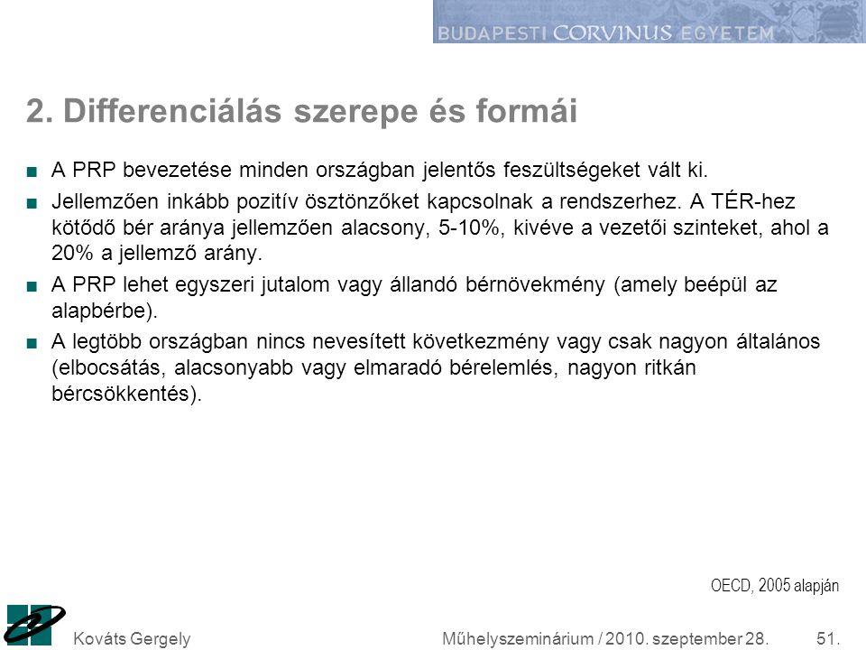 2. Differenciálás szerepe és formái