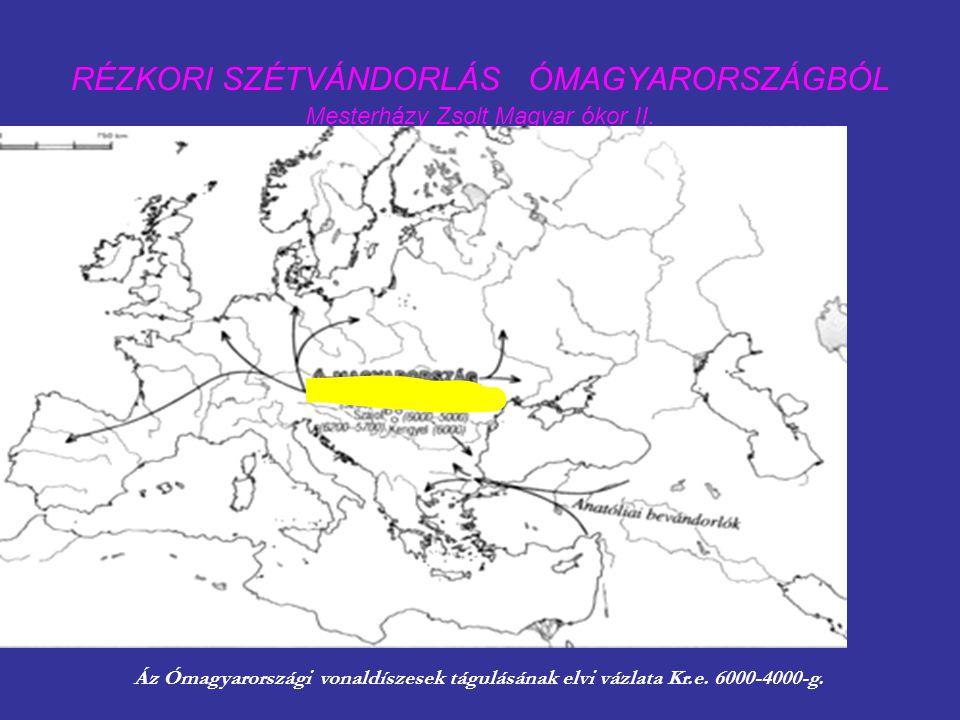 RÉZKORI SZÉTVÁNDORLÁS ÓMAGYARORSZÁGBÓL Mesterházy Zsolt Magyar ókor II.