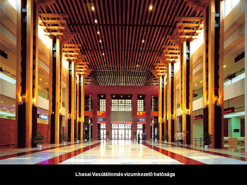 Lhasai Vasútállomás vizumkezelő hatósága