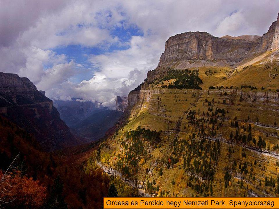 Ordesa és Perdido hegy Nemzeti Park, Spanyolország