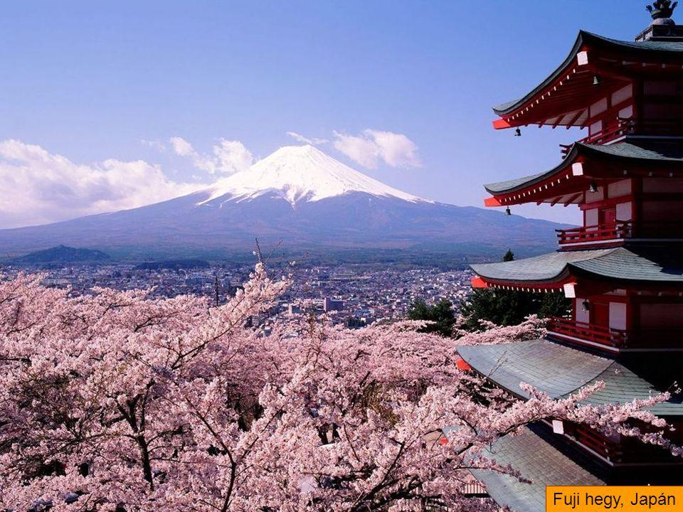 Fuji hegy, Japán