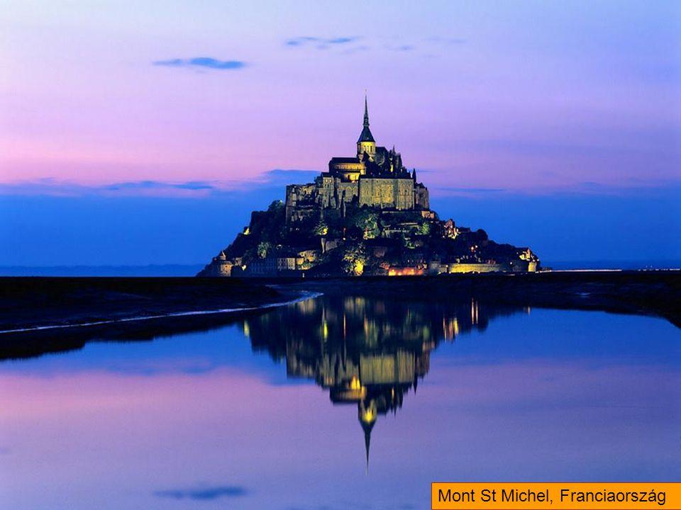 Mont St Michel, Franciaország