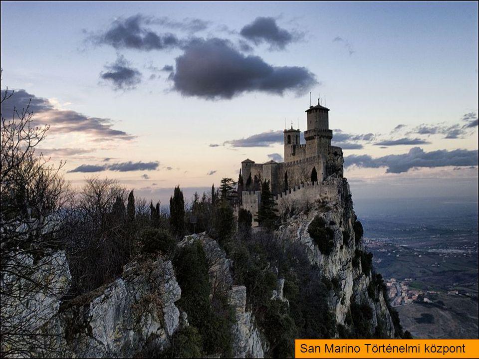 San Marino Történelmi központ