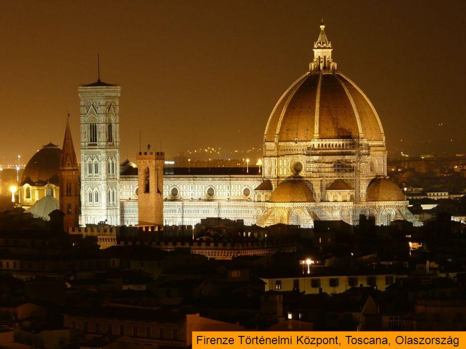 Firenze Történelmi Központ, Toscana, Olaszország