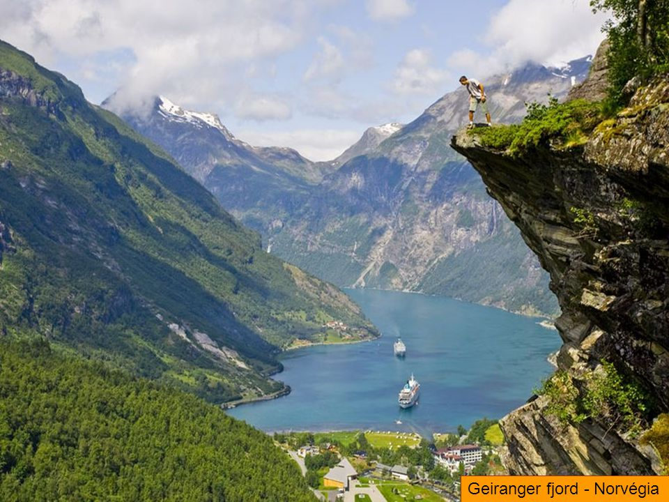 Geiranger fjord - Norvégia