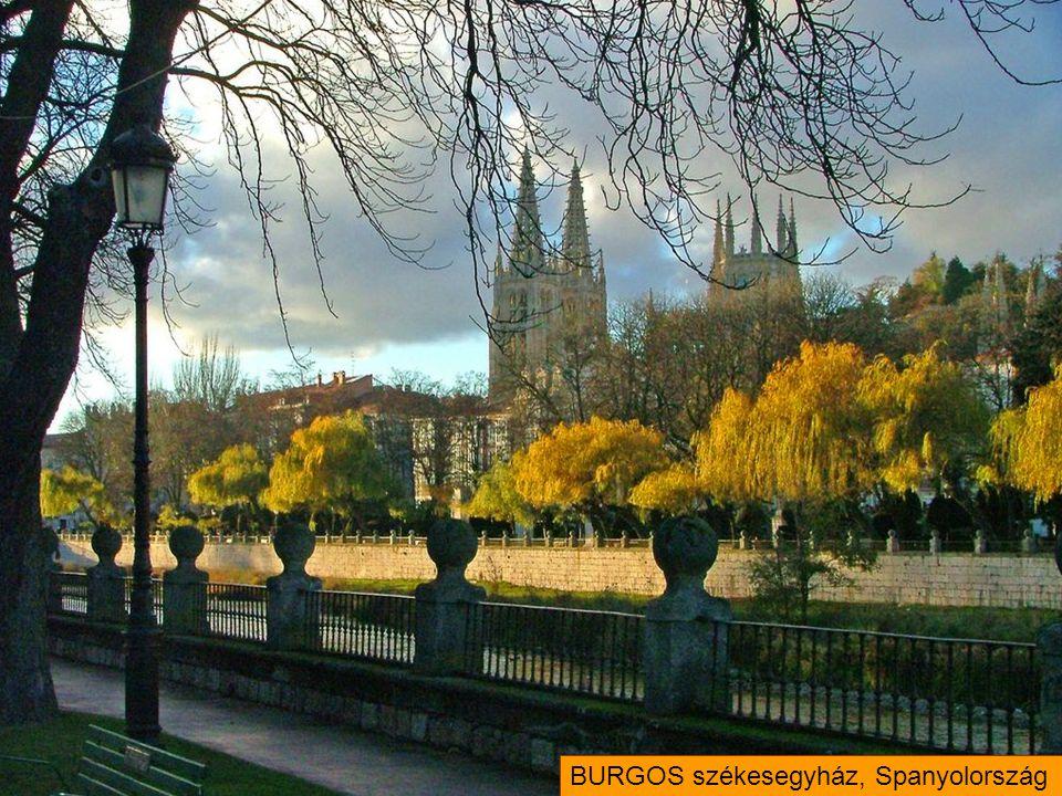 BURGOS székesegyház, Spanyolország