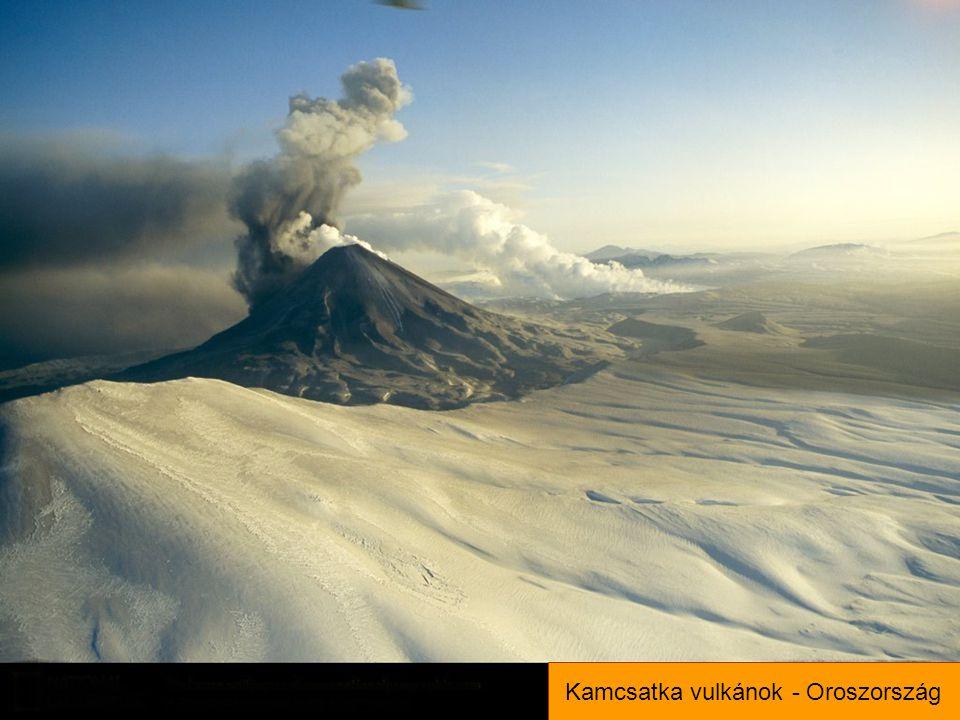 Kamcsatka vulkánok - Oroszország