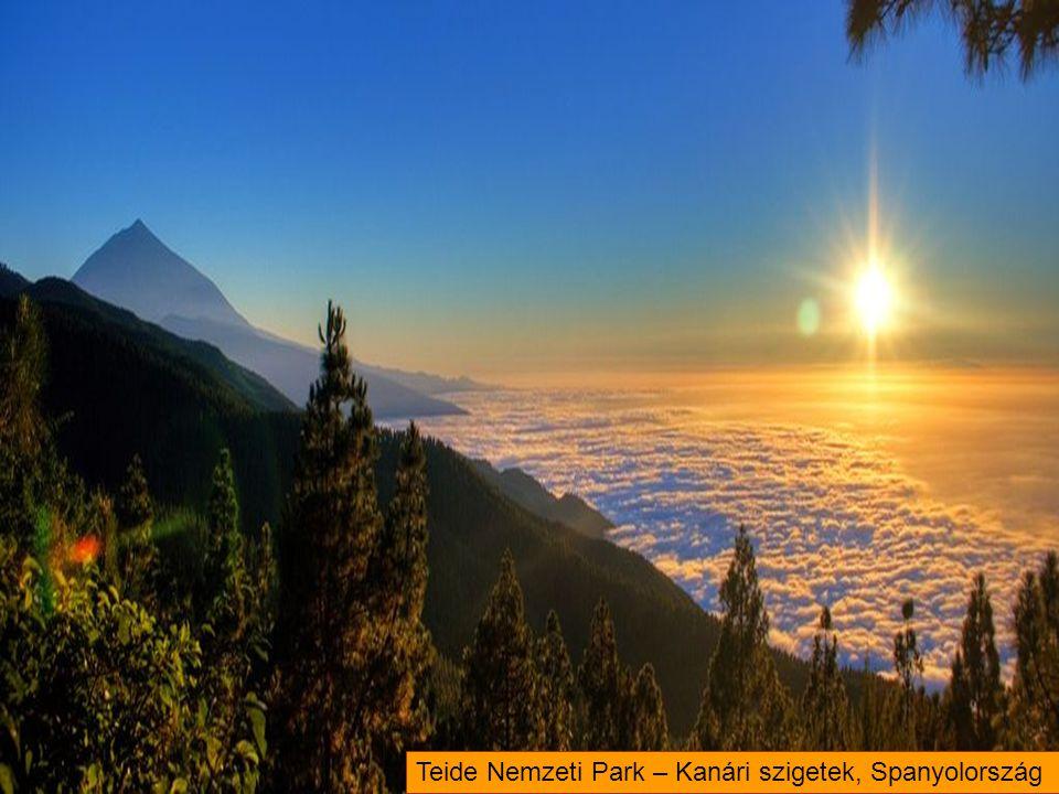 Teide Nemzeti Park – Kanári szigetek, Spanyolország