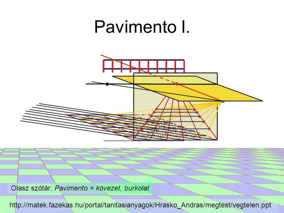 Olasz szótár: Pavimento = kövezet, burkolat