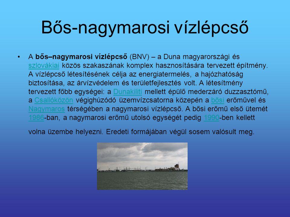 Bős-nagymarosi vízlépcső
