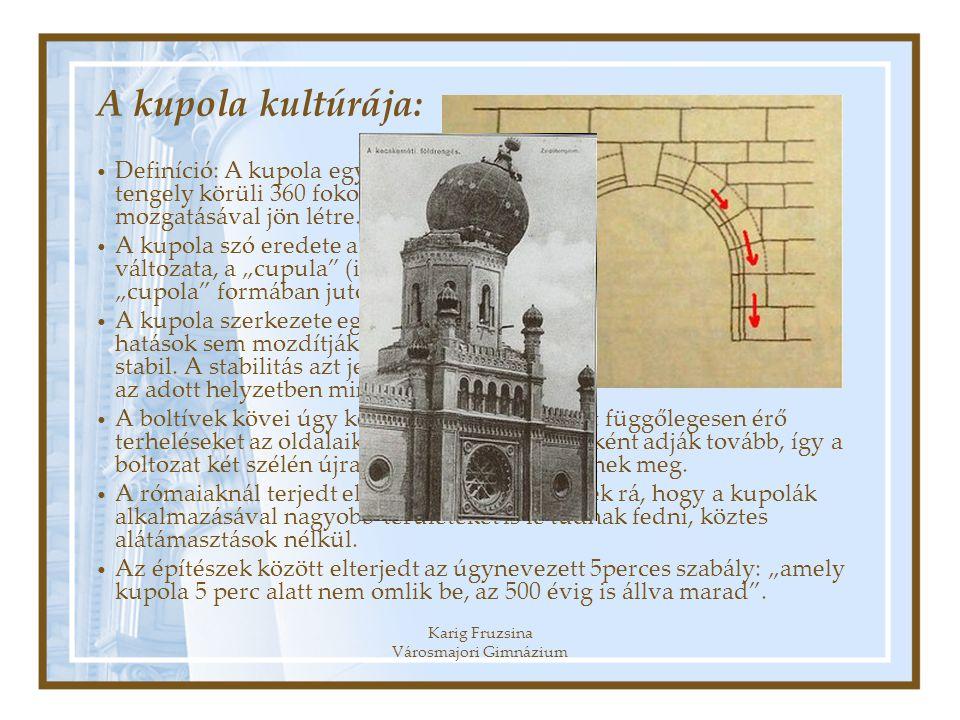 Karig Fruzsina Városmajori Gimnázium
