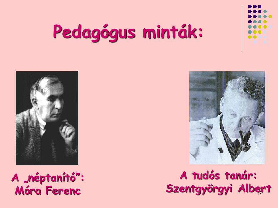 """A """"néptanító : Móra Ferenc"""