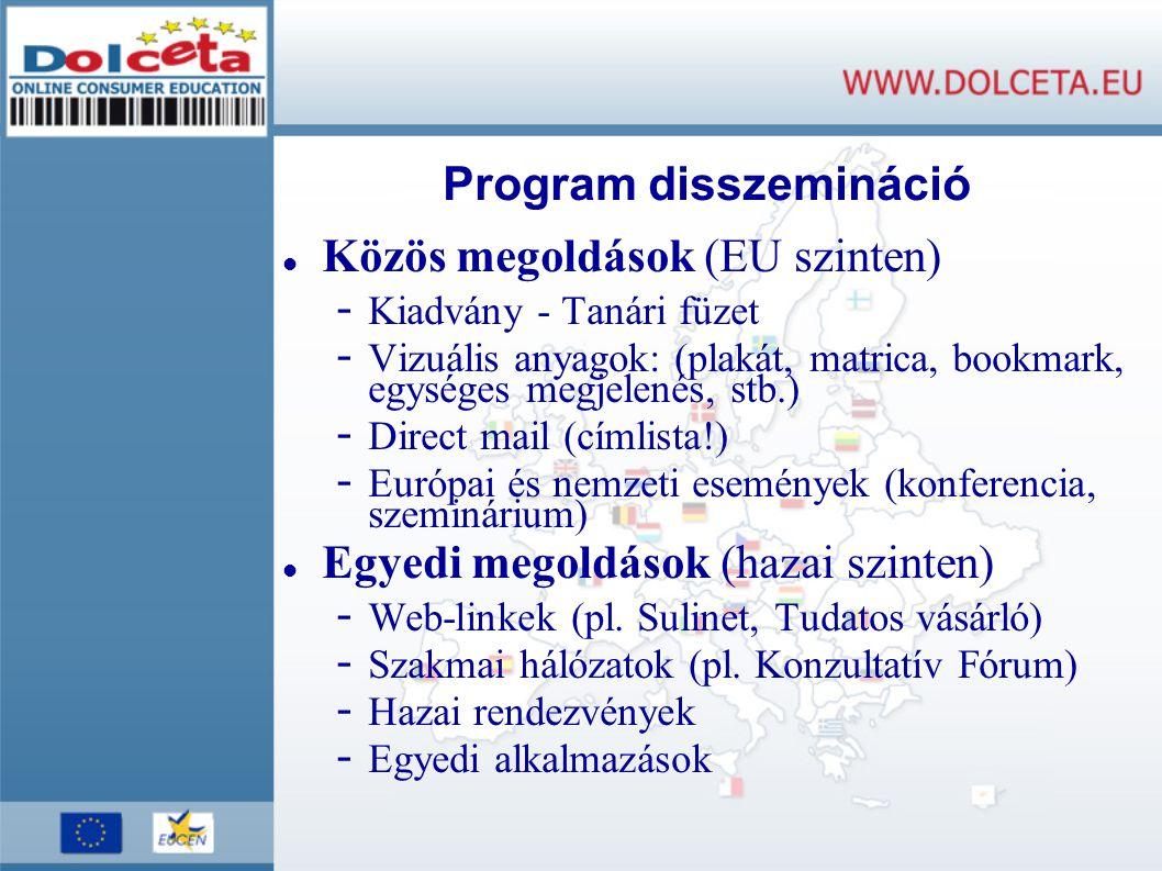 Program disszemináció