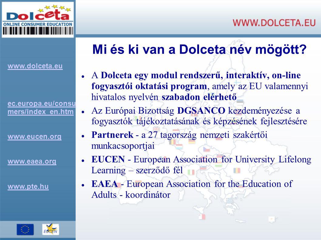Mi és ki van a Dolceta név mögött
