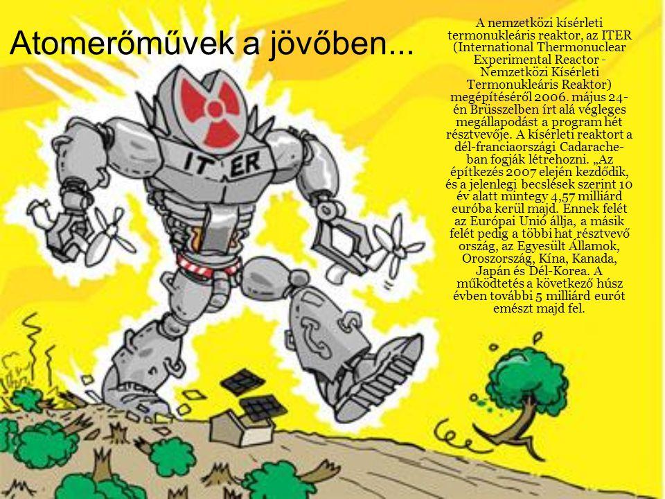 Atomerőművek a jövőben...