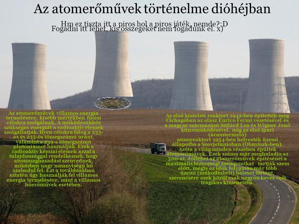 Az atomerőművek történelme dióhéjban