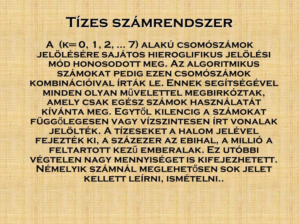 Tízes számrendszer