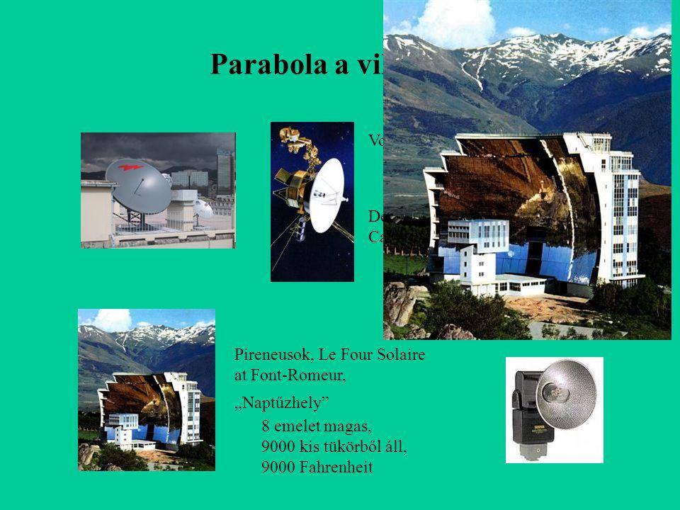 Parabola a világban Voyager, d =3,7 m