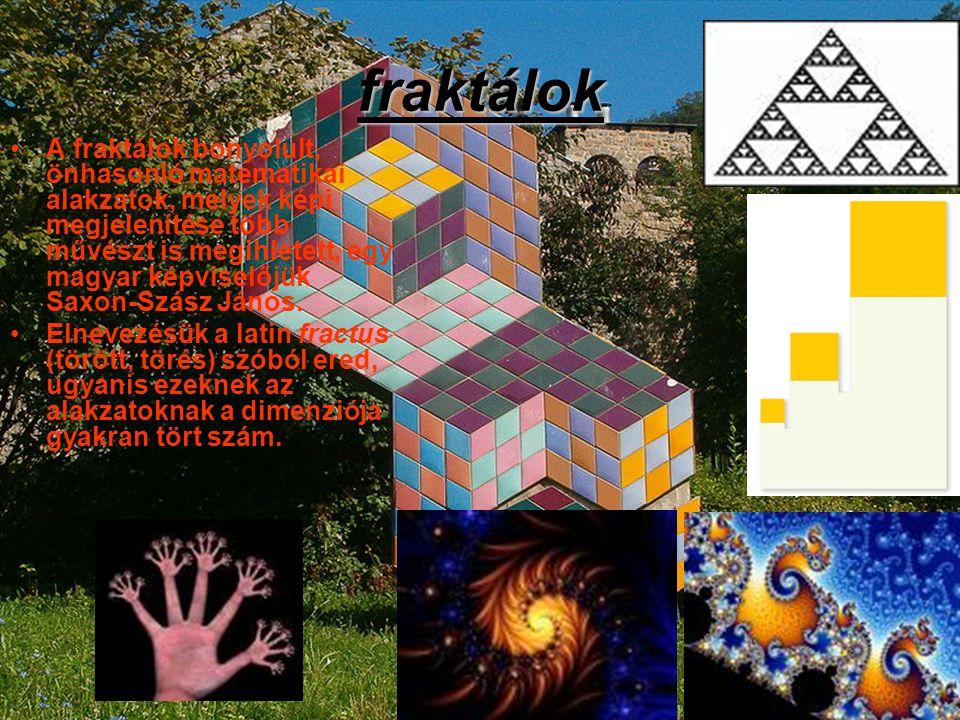 fraktálok