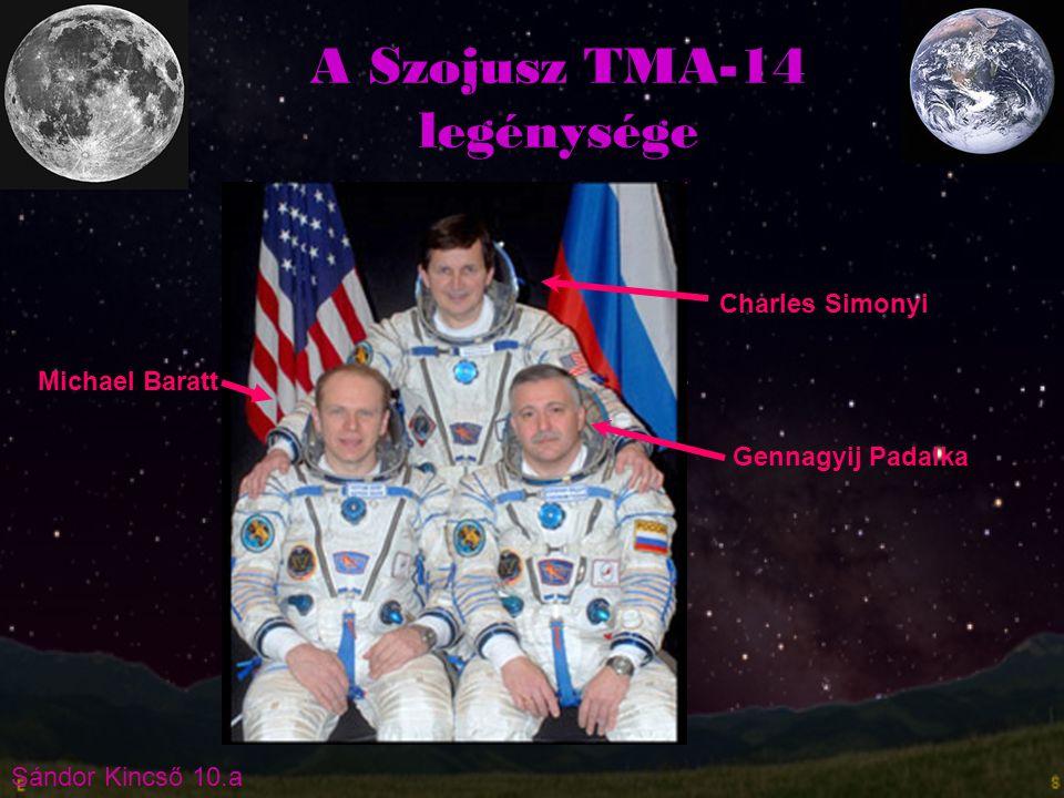 A Szojusz TMA-14 legénysége