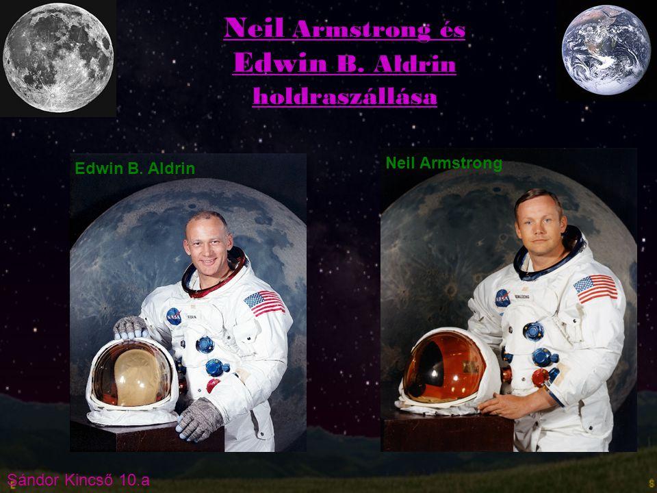 Neil Armstrong és Edwin B. Aldrin holdraszállása