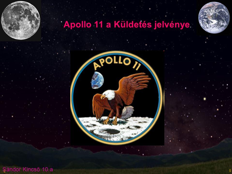 Apollo 11 a Küldetés jelvénye