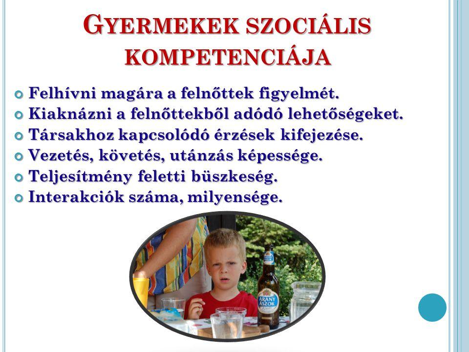 Gyermekek szociális kompetenciája