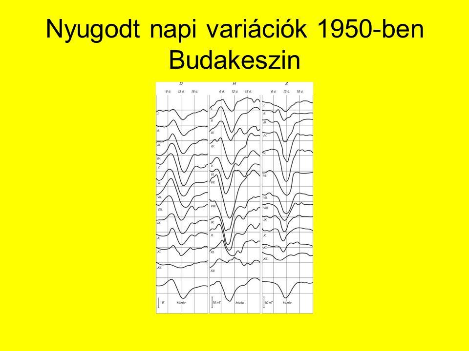 Nyugodt napi variációk 1950-ben Budakeszin