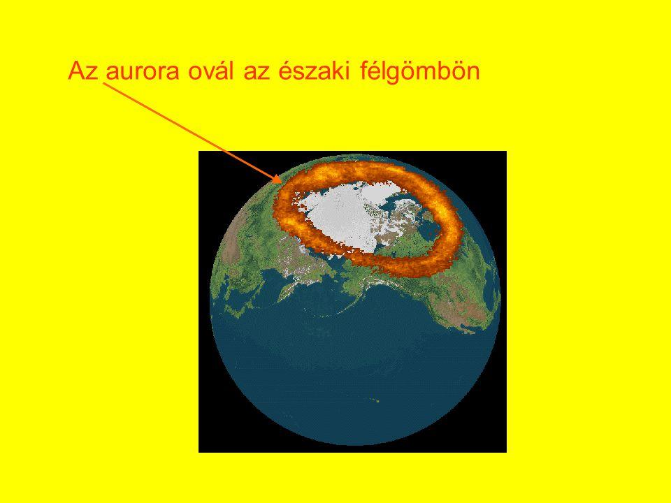 Az aurora ovál az északi félgömbön