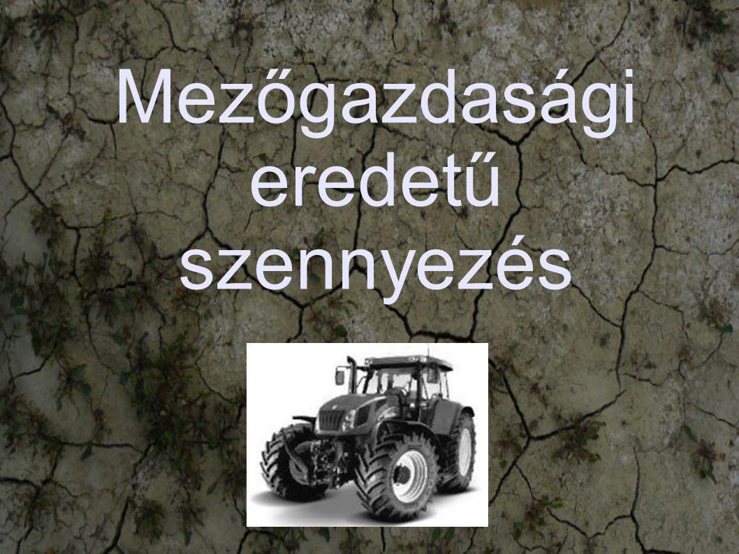 Mezőgazdasági eredetű szennyezés