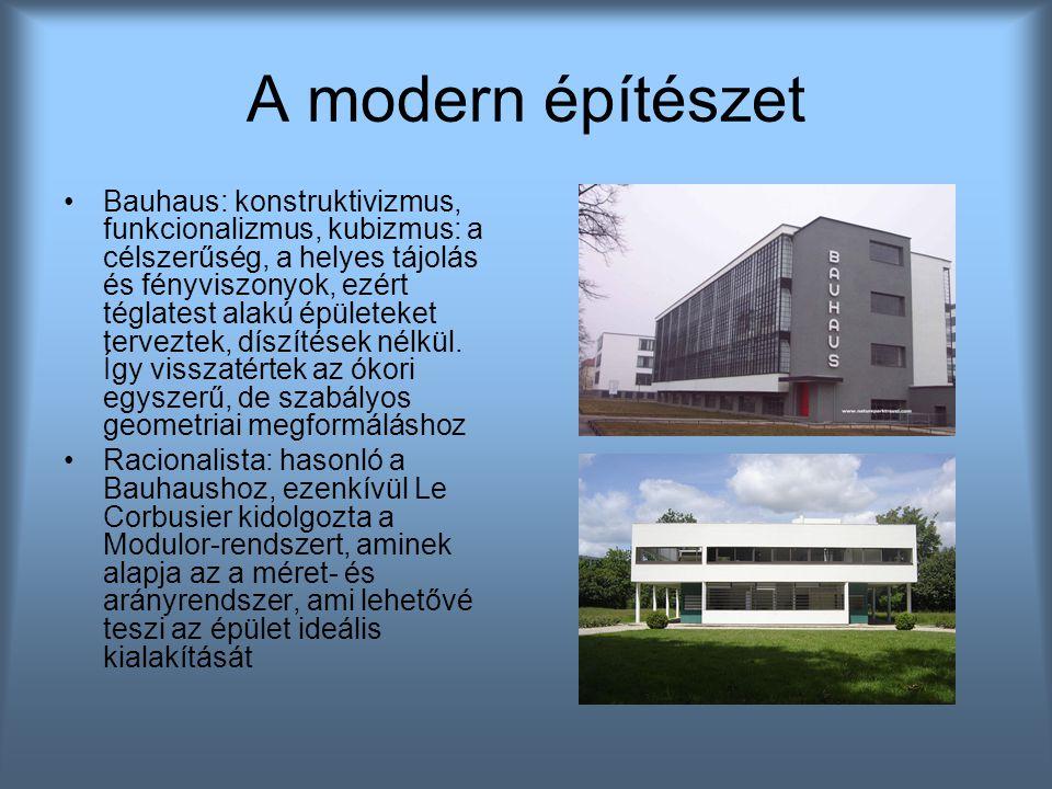A modern építészet