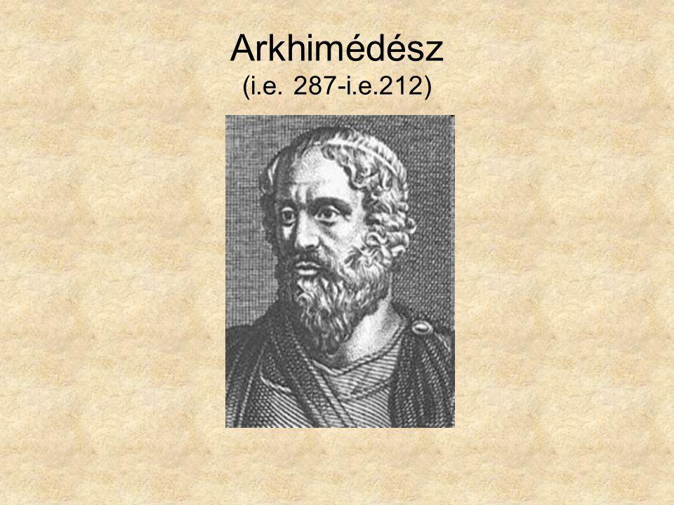 Arkhimédész (i.e. 287-i.e.212)
