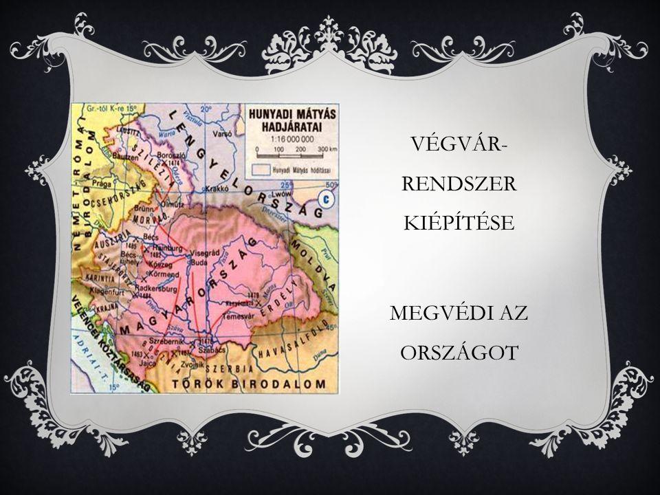 VÉGVÁR-RENDSZER KIÉPÍTÉSE
