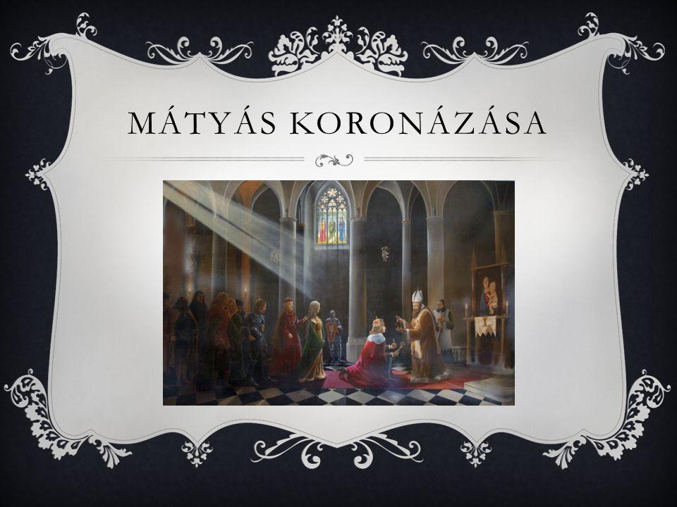 Mátyás koronázása