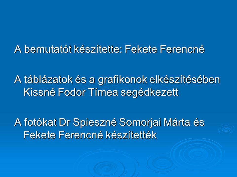 A bemutatót készítette: Fekete Ferencné