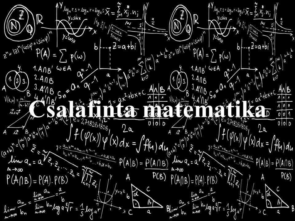 Csalafinta matematika