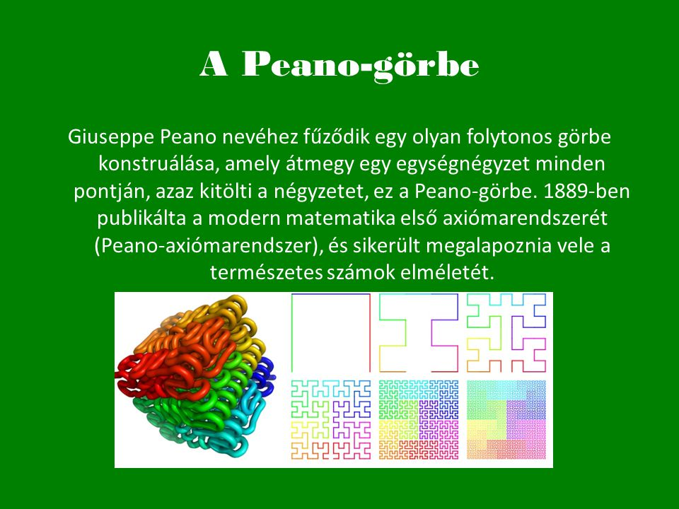 A Peano-görbe