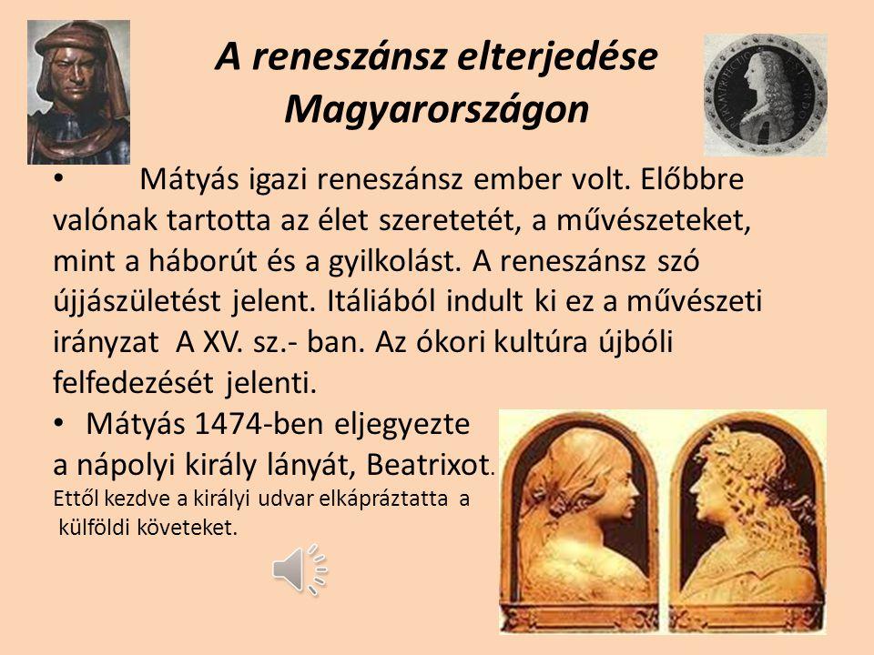 A reneszánsz elterjedése Magyarországon