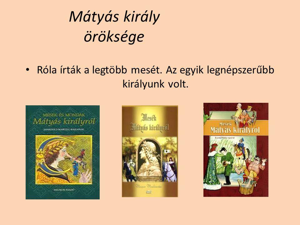 Mátyás király öröksége